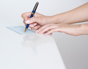 writing-check